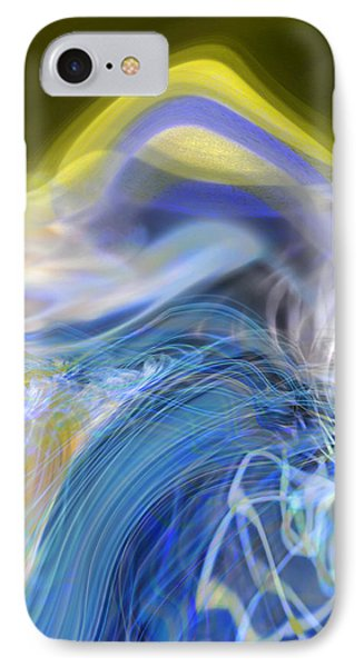 Wave Theory IPhone Case by Richard Thomas