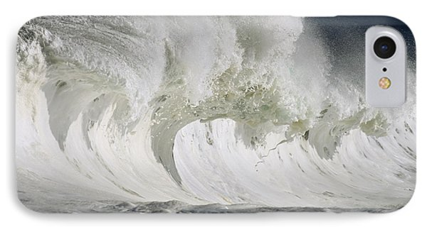 Wave Whitewash Phone Case by Vince Cavataio