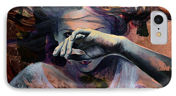 Wavering... IPhone Case by Dorina  Costras