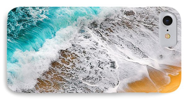 Waves Abstract IPhone Case by Silvia Ganora