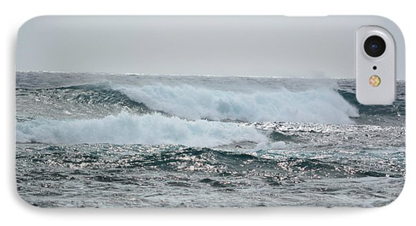 Waves At Koloa IPhone Case by P S