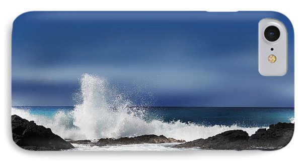 IPhone Case featuring the photograph Waves by Athala Carole Bruckner