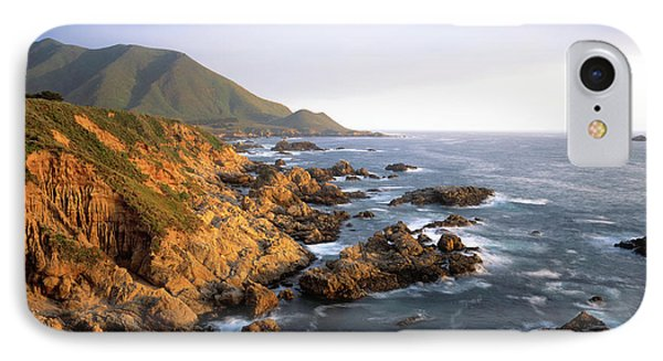 Waves Breaking On Garrapata Beach IPhone Case by Panoramic Images