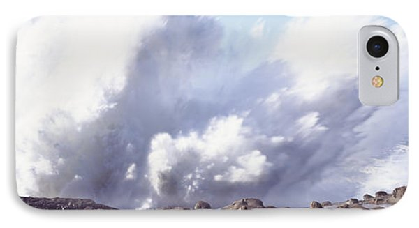 Waves Breaking On The Coast, Shore IPhone Case by Panoramic Images