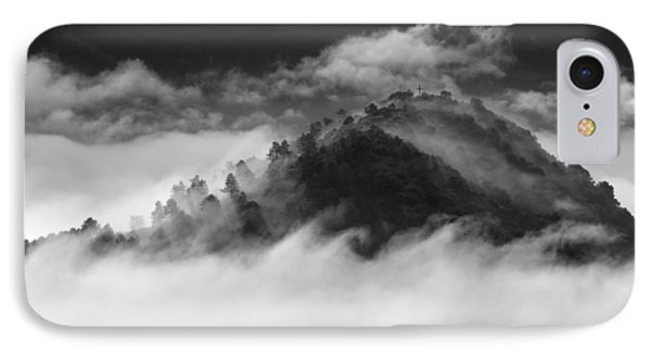 Waves Clouds. IPhone Case by Guido Montanes Castillo