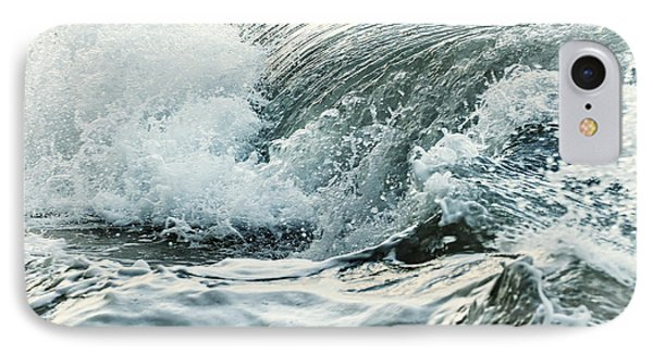 Waves In Stormy Ocean IPhone Case by Elena Elisseeva