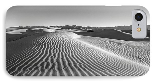 Desert iPhone 7 Case - Waves In The Distance by Jon Glaser