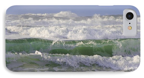 Waves In The Sun IPhone Case by Adria Trail