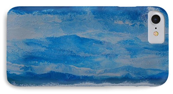 IPhone Case featuring the painting Waves by Linda Bailey