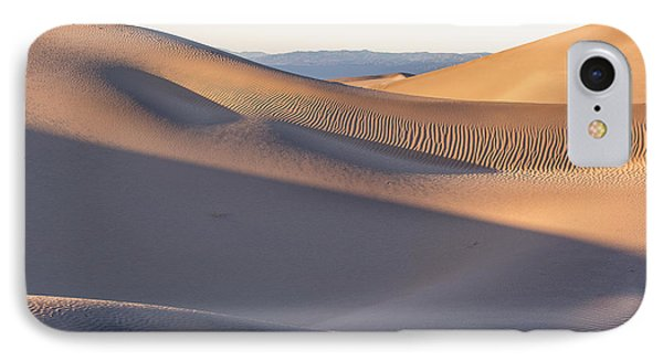 Waves Of Sand Phone Case by Jon Glaser