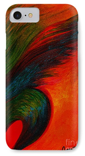 Waves Of The Wind Phone Case by Fanny Diaz