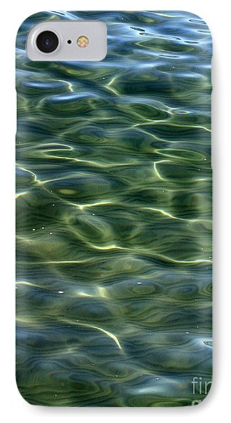Waves On Lake Tahoe IPhone Case by Carol Groenen