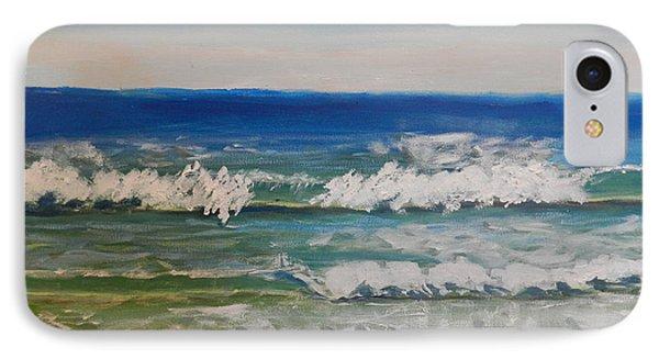 Waves Phone Case by Pamela  Meredith