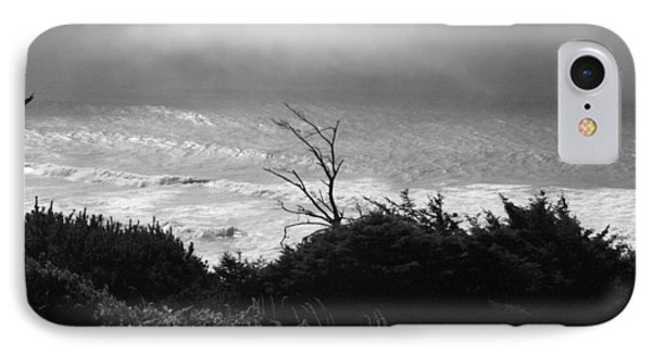 IPhone Case featuring the photograph Waves Upon The Land by Tarey Potter