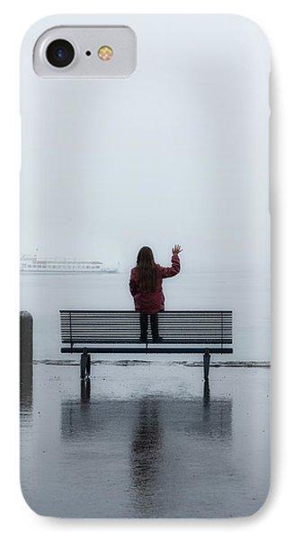 Waving Goodbye Phone Case by Joana Kruse