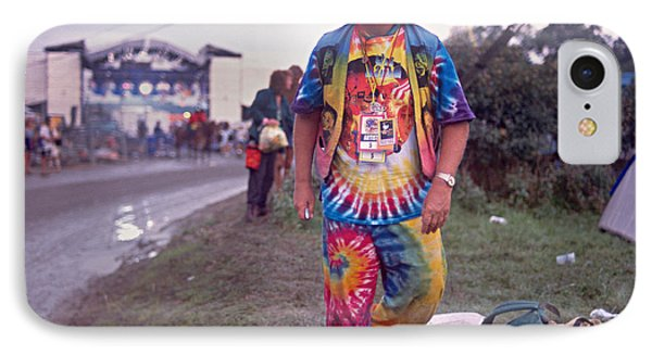 Wavy Gravy At Woodstock Phone Case by Chuck Spang