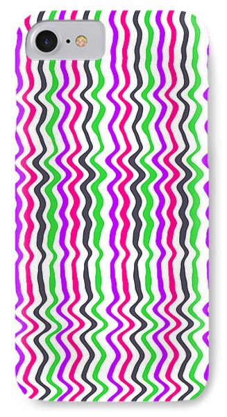 Wavy Stripe IPhone Case