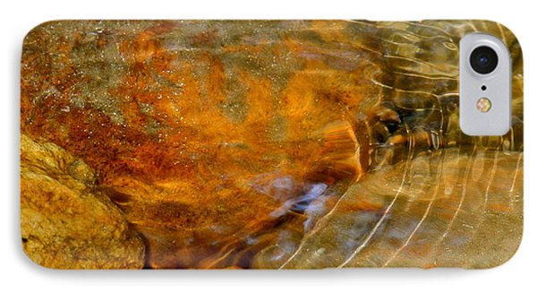 Wavy Water On Colorful Rocks IPhone Case by Kirsten Giving