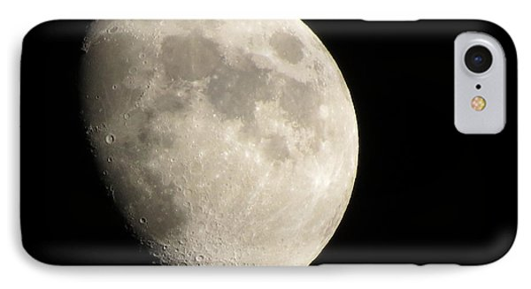 Waxing Moon IPhone Case by Kathy Long