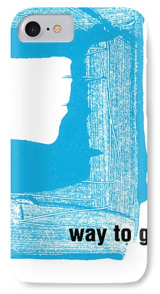 Way To Go- Congratulations Greeting Card IPhone Case by Linda Woods