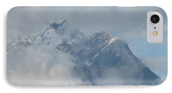 IPhone Case featuring the photograph Way Up Here by Greg Patzer
