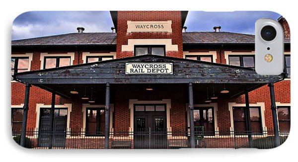 IPhone Case featuring the photograph Waycross Depot by Laura Ragland