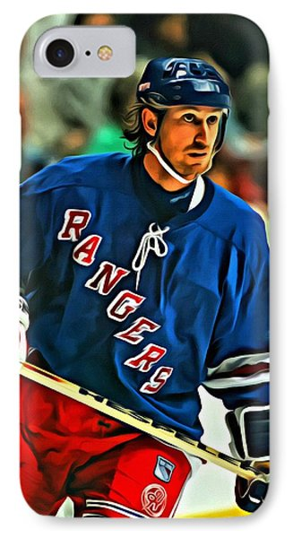 Wayne Gretzky In Action IPhone Case