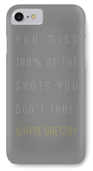 Wayne Gretzky - You Miss 100 Per Cent Of The IPhone Case