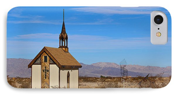 Wayside Chapel IPhone Case by Dan Redmon