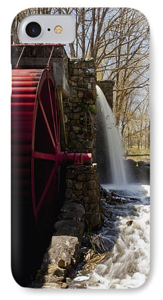 Wayside Grist Mill 2 Phone Case by Dennis Coates