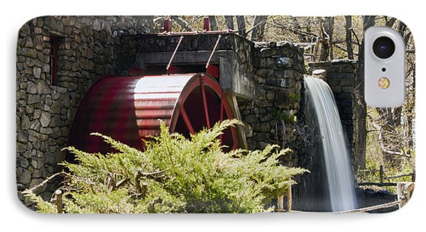 Wayside Grist Mill 3 Phone Case by Dennis Coates