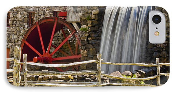 Wayside Grist Mill 4 Phone Case by Dennis Coates