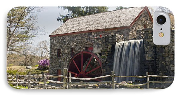 Wayside Grist Mill 5 Phone Case by Dennis Coates