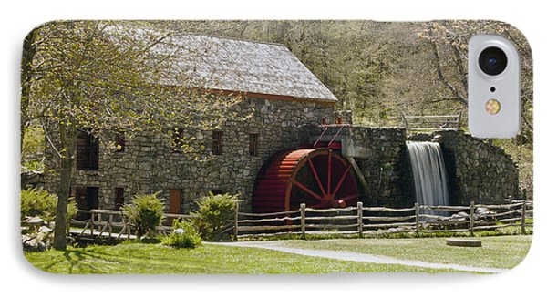 Wayside Grist Mill 6 Phone Case by Dennis Coates