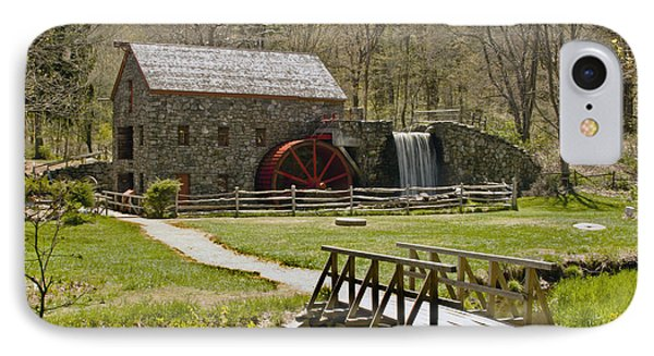 Wayside Grist Mill 8 Phone Case by Dennis Coates