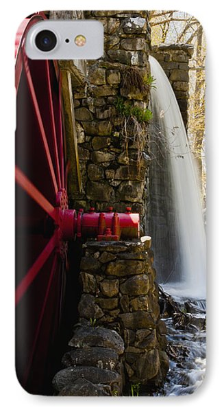 Wayside Grist Mill Phone Case by Dennis Coates