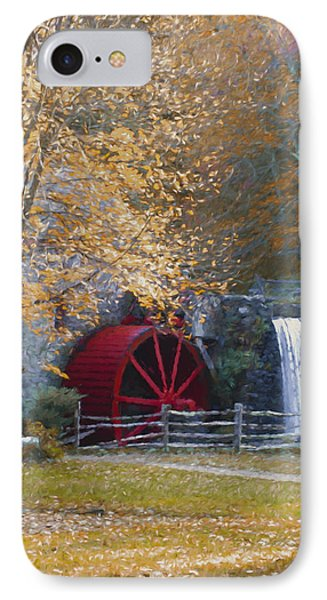 Wayside Inn Grist Mill IPhone Case by Jean-Pierre Ducondi