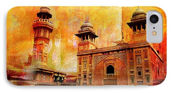 Wazir Khan Mosque Phone Case by Catf