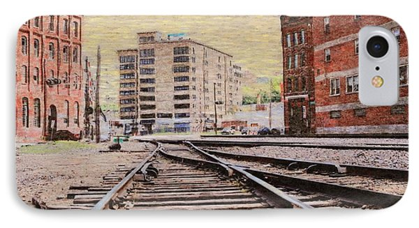 Wb - West Bottoms - Kcmo Phone Case by Liane Wright