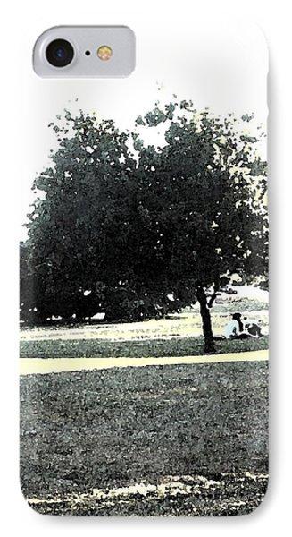 Wc Resting Tree Phone Case by Nicki Bennett