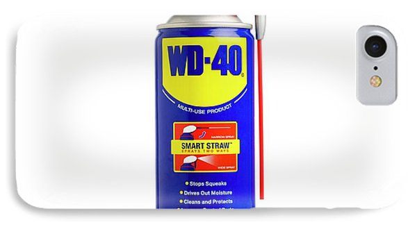 Wd40 Lubricant IPhone Case by Science Photo Library