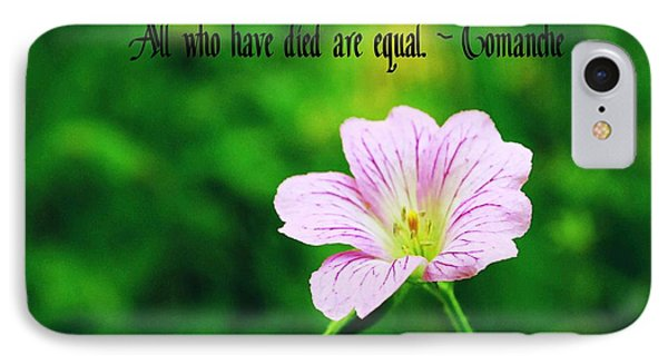 We Are Equal IPhone Case