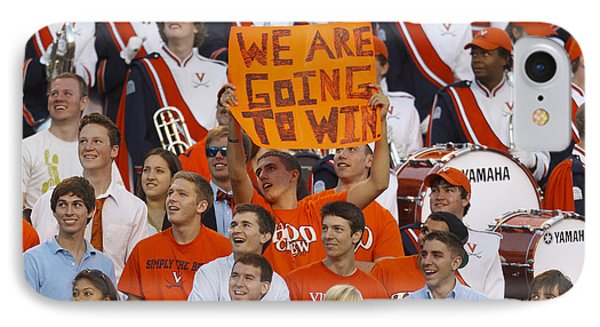 We Are Going To Win University Of Virginia IPhone Case by Jason O Watson