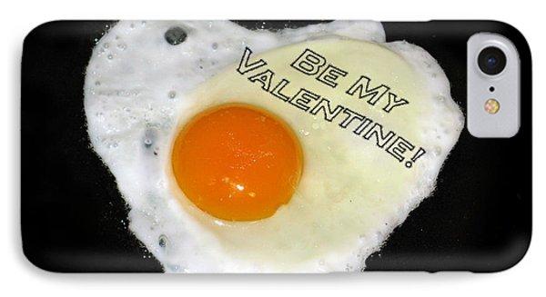 We Are Like Egg And Pepper. Be My Valentine Phone Case by Ausra Huntington nee Paulauskaite