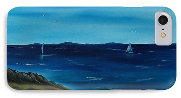 We Are Sailing.. Phone Case by Cynthia Adams