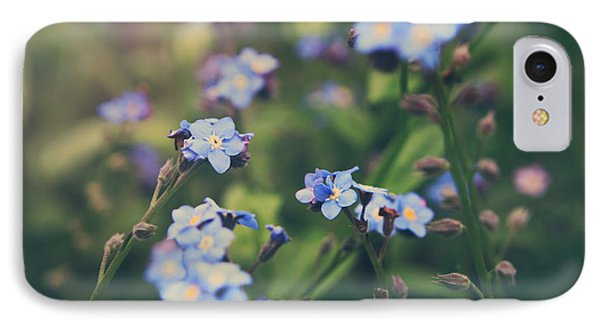 Garden iPhone 7 Case - We Lay With The Flowers by Laurie Search