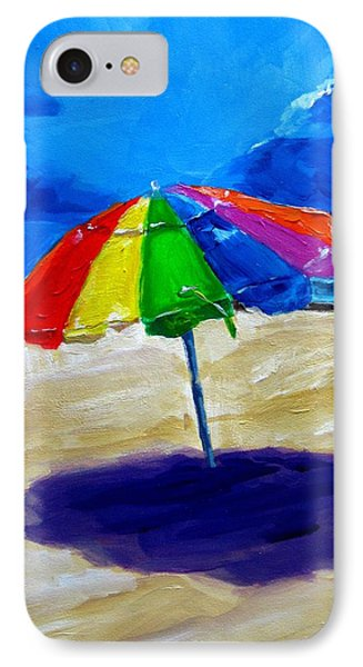 We Left The Umbrella Under The Storm Phone Case by Patricia Awapara