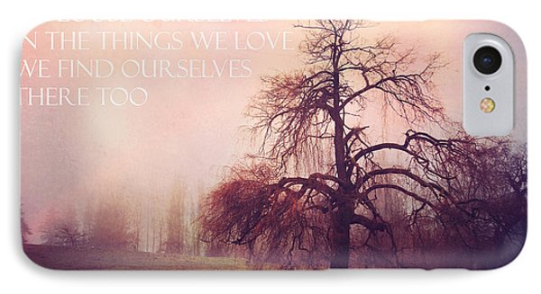 IPhone Case featuring the photograph We Loose Ourselves by Sylvia Cook
