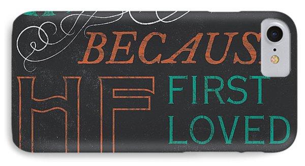 We Love.... IPhone Case by Debbie DeWitt