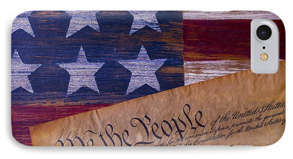 We The People IPhone Case by Garry Gay